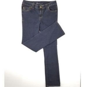 Lane Bryant Genius Fit Straight Boot Jeans 18 Tall